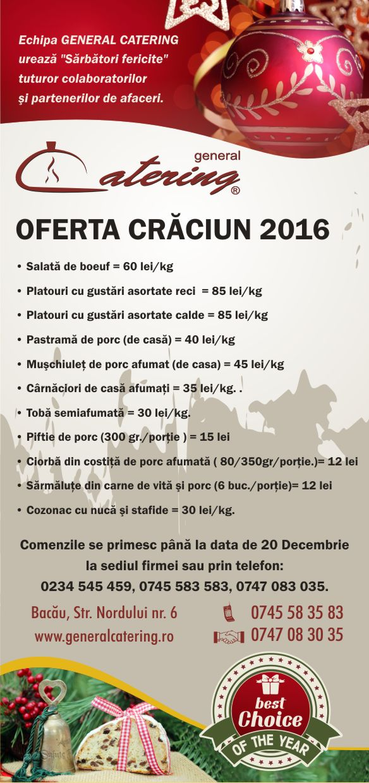 Oferta de Craciun 2016