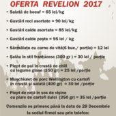 Oferta Revelion 2017